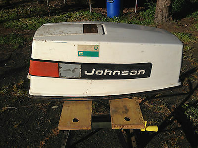 Johnson 50hp Loop Charged Engine Cowling