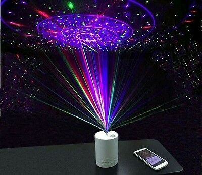 Wireless Bluetooth Laser Projector Speaker Star Galaxy Party Gift Chrismas Xmas