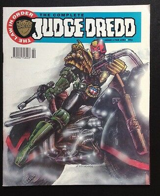 The Complete JUDGE DREDD Monthly Comic Magazine 1 Feb 1992 Fn FIRST ISSUE