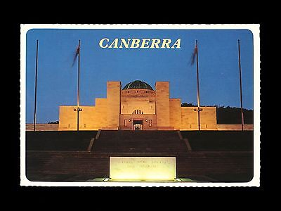 Vintage 1980s postcard of the Australian War Memorial in Canberra - mint!