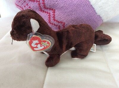 Retired TY Beanie Baby Collectible - Runner the Mongoose 2000