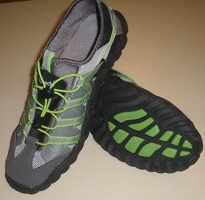 Speedo Women's Hydro Comfort Water Athletic Shoes Size 10 Black Gray / Green
