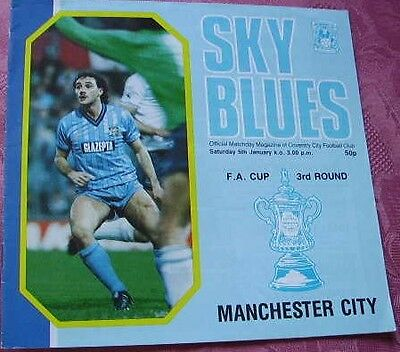 Coventry City  V  Manchester City 1984-85 Fa Cup