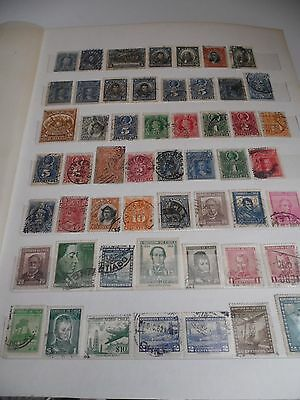 chile mainly used selection over 130 stamps