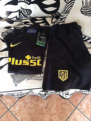 Ensemble Atletico Madrid Maillot + Short NEUF ( Taille S)