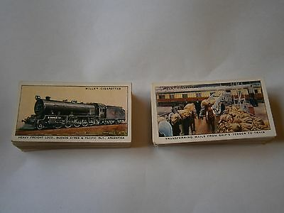 Cigarette  Cards  2 Full Sets Of    W  D &  H O Wills  Good Condition Job Lot 25