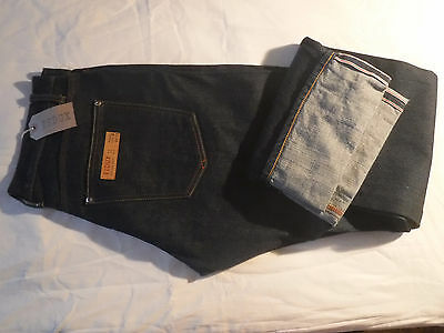 Jeans REDUX company SELVEDGE DENIM Made in Italy 33X34 size RAW Danim