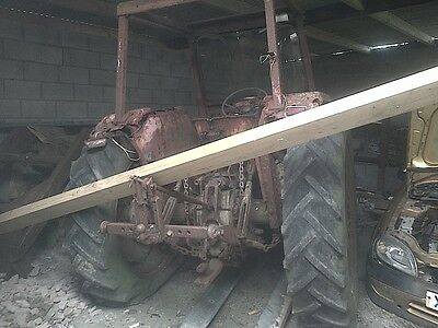 Massey 178 Tractor And Loader