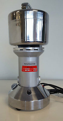 Electric Commercial Spice Grinder Powdering Herbal Pharmaceutical