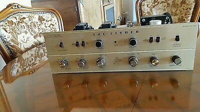 Vintage fisher  amplifier tube X 100