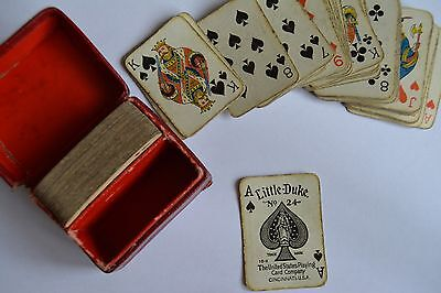 little duke playing cards no 24 miniature