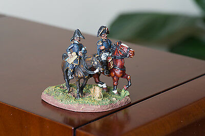 28mm Napoleonic French General & Aide de Camp PAINTED