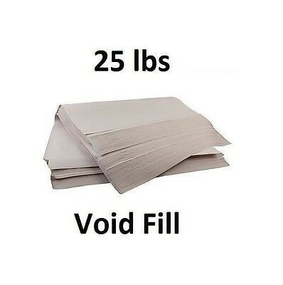"25 lbs 24"" x 36"" Packing Void Fill Paper Moving Shipping Fill Sheets - 400ct"