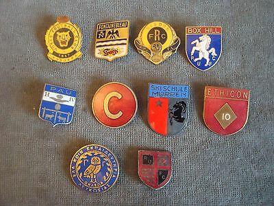 Australian & Other Rugby Club Enamel Badges & Pin Badges