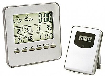 Smart LED Wireless Indoor Outdoor Thermometer with Humidity Weather Forecast T55