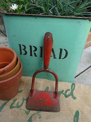 Vintage Garden Hoe End Old Gardening Tool Allotment As Shown