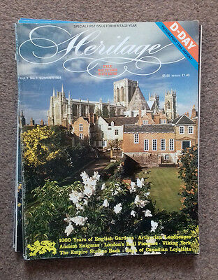 HERITAGE MAGAZINE - THE BRITISH REVIEW - ISSUE No 1- SUMMER 1984