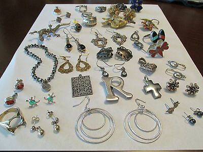 153.5 grams Sterling Silver .925 Lot Not All Hallmarked or Perfect but Tested