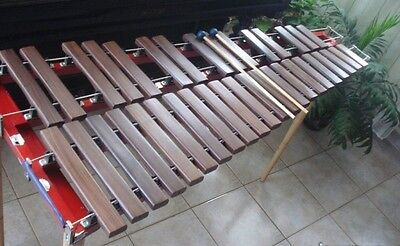 Wooden Professional Xylophone Three Octaves with case