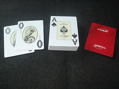 Job Lot 3 Boxed & Sealed Packs Fournier 2818 100% Plastic Poker Playing Cards