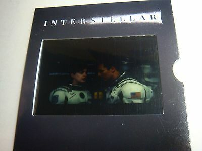 NEW Interstellar Movie Collectible IMAX Film Cell From an Actual 70MM Film Print