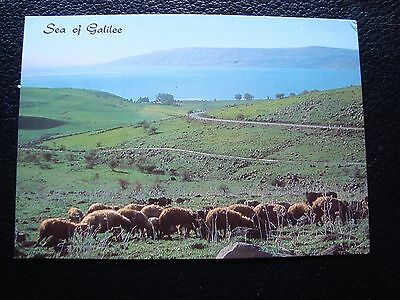 ISRAEL - carte postale 1983 sea of galilee (cy90)