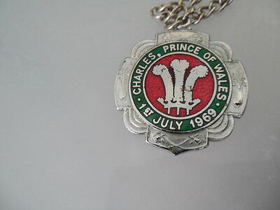 Rare Charles Prince of Wales Investiture July 1969 Necklace