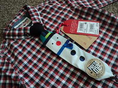 Next Baby Boys Smart Shirt & Musical Tie Christmas Day Outfit 6-9 Months BNWT