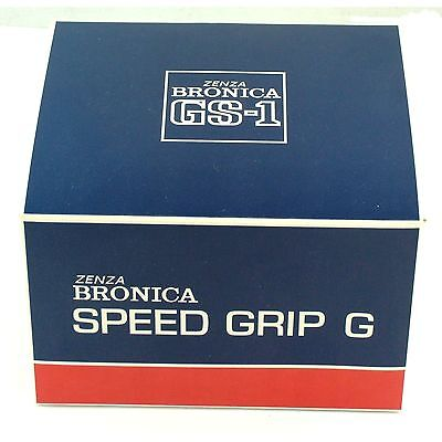 Bronica GS-1 Speed Grip G, boxed, mint condition