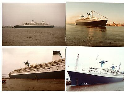 Ss Norway Set Of 10 Color Photos  1984 Philadelphia Stop Over