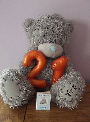 Me To You Grey Bear - 21st Birthday Bear