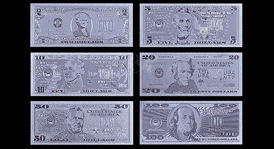 Lot of 15  silver novelty bank notes  #42