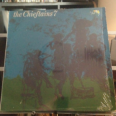 THE CHIEFTAINS 7  - EX+ VINYL LP - first pressing still in wrapper RARE
