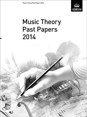 ABRSM Music Theory Past Papers 2014. Grade 1, 2, 3, 4, 5, 6, 7 & 8 Available