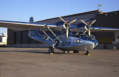 National War Museum, Consolidated PBY-5A Catalina, N7057C '62-P'; original slide