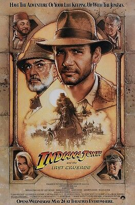 Indiana Jones and the Last Crusade movie poster (b) : 11 x 17 inches