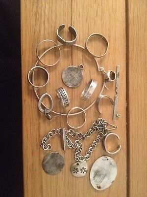 Metal Detecting Finds, Silver