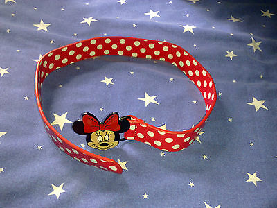 Disney   Minnie Mouse   Girls Belt   Red/white       Not Sealed       New  Condi