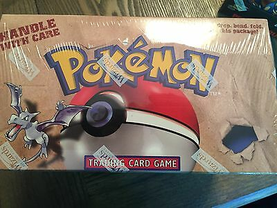 Pokemon Fossil Preconstructed Theme Deck Box Factory Sealed 8 count