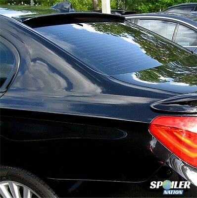 2009-2015 BMW 7 Series Tuner Style Rear Roof Line Spoiler (UNPAINTED)