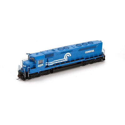 Athearn G63665 HO Conrail SDP45 with DCC & Sound #6691