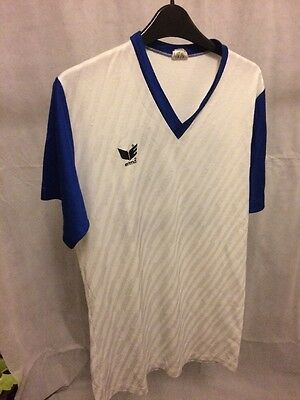 Vintage Football Shirt By Erima, Made In West Germany Size L