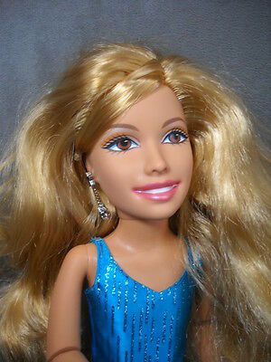 """Sharpay High School Musical 17"""" Teen Trends  Jointed Doll Mattel with Blue Dress"""
