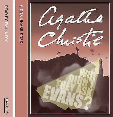 Why Didn't They Ask Evans? by Agatha Christie (CD-Audio, 2006)