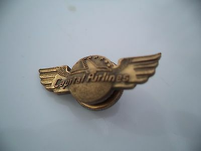 Capital Airlines Wings Pin 1 inch pin