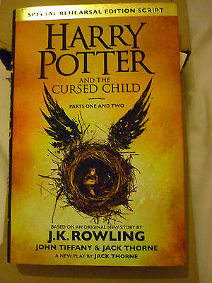 Harry Potter And The Cursed Child Hardback Book - BRAND NEW NEVER BEEN READ
