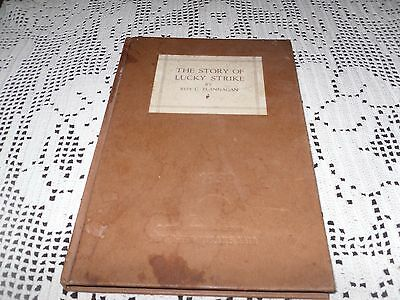 """Vintage Book """"the STORY OF LUCKY STRIKE"""" 1939 New York World's Fair, Cigarettes"""