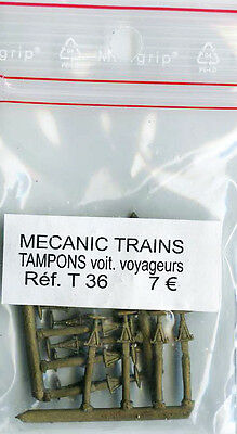 Mecanic Trains, Tampons Voitures Voyageurs Romilly, T 36