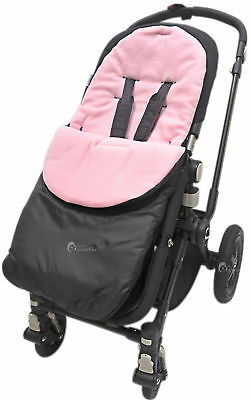Footmuff / Cosy Toes Compatible with Baby Buggy Pushchair Pram Light Pink