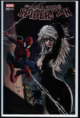 Amazing Spider-Man #15 US Marvel / Aspen Michael Turner BLACK CAT Variant NM+ M